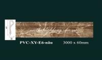 PVCXY-E6 Vân Đá Nâu